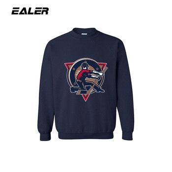 Мужской спортивный свитер JETS темно синего цвета, пальто для фитнеса с логотипом для любителей хоккея, толстовка