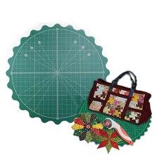 Самовосhealing вающийся роторный режущий коврик для офисных школьных принадлежностей для квилтинга, бумажного ремесла, глиняного ремесла, художественного ремесла размер 8 дюймов(20 см х 20 см
