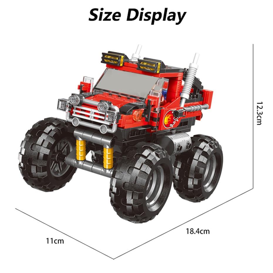 XINGBAO XB-03025 Big Foot Super Car Building Block 35