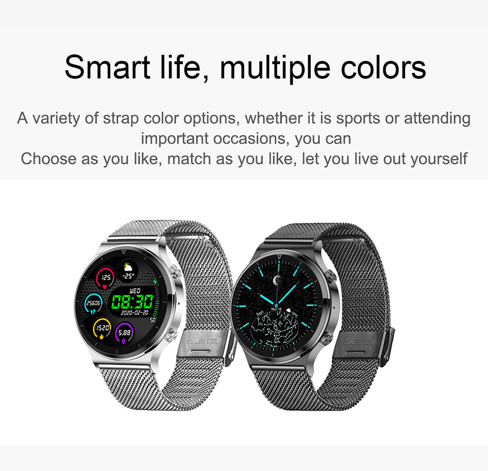 H41ca3409c4d842beacfa9a846df695edp LIGE New Smart watch Men Heart rate Blood pressure Full touch screen sports Fitness watch Bluetooth for Android iOS smart watch