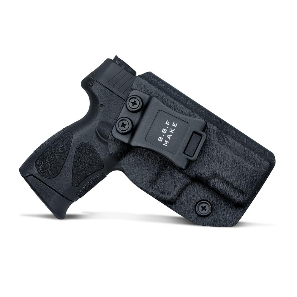 IWB Kydex Gun Holster Custom Fit: Taurus G2C 9mm & Millennium PT111 G2 / PT140 Pistol - Inside Waistband Concealed Carry Holster