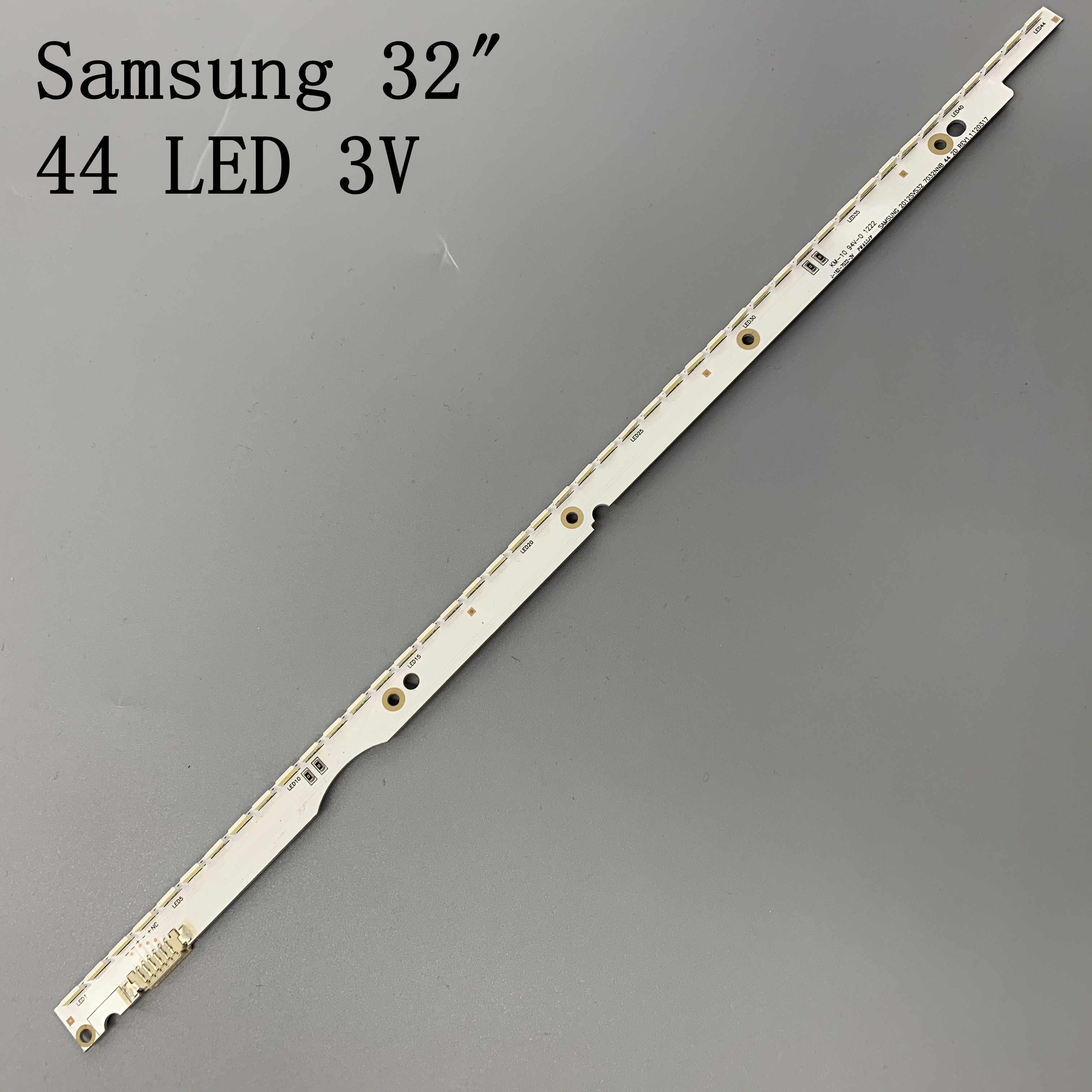 3V 32 Inch Led Backlight Strip Voor Samsung Tv 2012SVS32 7032NNB 2D V1GE-320SM0-R1 32NNB-7032LED-MCPCB UA32ES5500 44 Leds 406 Mm