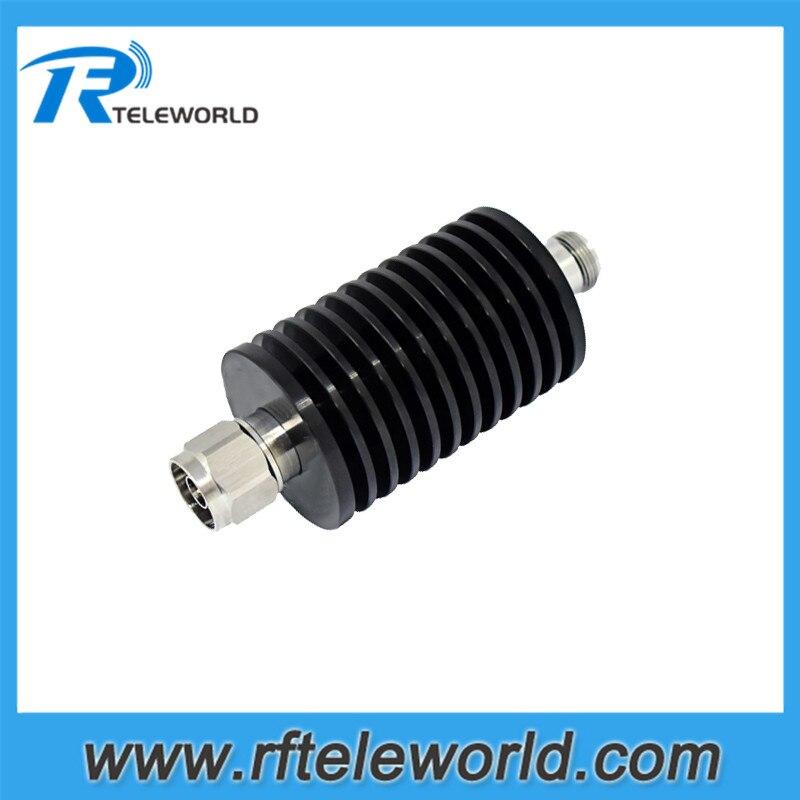 6GHz N male to female 50ohm 1dB,2db,3db.5db,6dB.10dB.15dB.20dB.25db,30dB,40dB 50W RF coaxial attenuator-in Connectors from Lights & Lighting