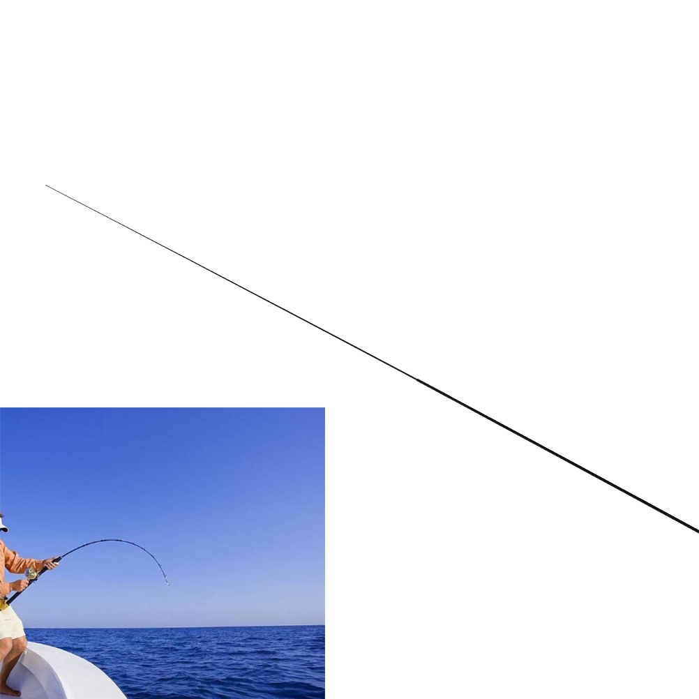 Long Fishing rod 56cm 2 intervals tips Solid and hollow carbon long rod Accessories