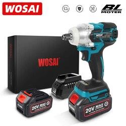 Wosai Mt-Serie Elektrische Slagmoersleutel 20V Borstelloze Wrench Li-Ion Batterij Dopsleutel Hand Boor Installatie Power Tools