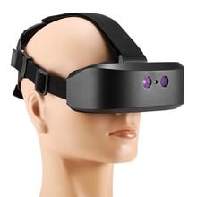 Цифровой бинокль ночного видения с креплением на голову, 60 м в темноте, Инфракрасная подсветка для ночной охоты, дикой природы