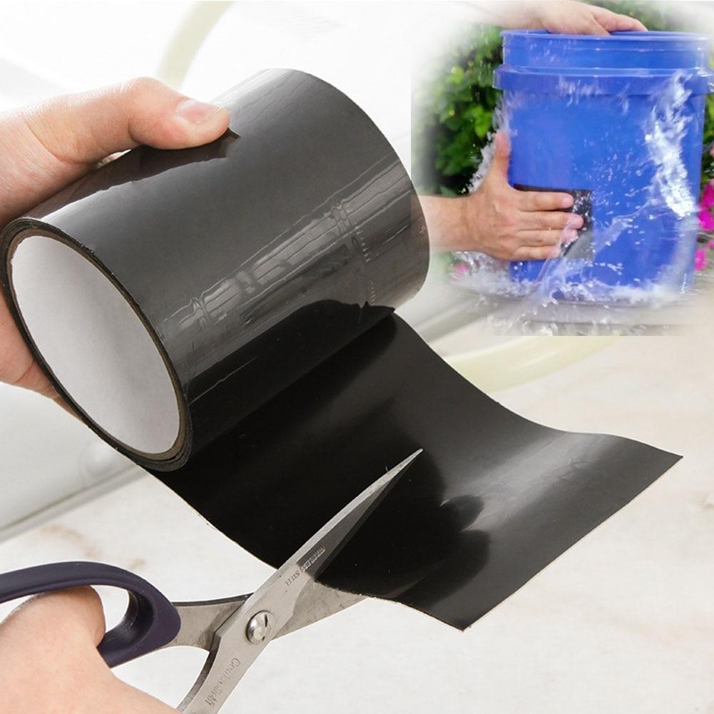 150CM Super Strong Fiber Waterproof Tape Stop Leak Seal Repair Tape Performance Self Tape Fiberfix Adhesive Tape Repair Tool