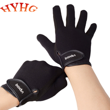 HYHG Equestrian Gloves Adult Riding Gloves Wear-resistant Non-slip Equestrian Gloves Polo Racing Gloves Unisex Equipment