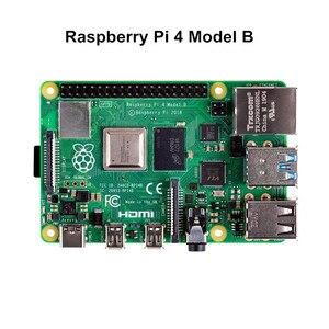 Оригинальный Raspberry Pi 4 модуль B с 4 Гб оперативной памяти BCM2711 четырехъядерный Raspberry Pi 4B плата Wi-Fi Bluetooth 5,0 для компьютера
