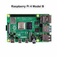 Original raspberry pi 4 módulo b com 4 gb ram bcm2711 quad core raspberry pi 4b + placa wifi bluetooth 5.0 para computador