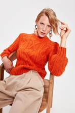 Trendyol Orange Sweater Sweater TWOAW20KZ0387()