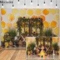 Mocsicka день пчелы торт разбивать фоны для подсолнухов улей, мед детей 1st день рождения Фотостудия Фото фоны
