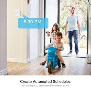 Image 2 - WiFi akıllı ev ışık anahtarı basma düğmesi uzaktan anahtarı kontrol çalışma akıllı yaşam/Tuya APP ile Alexa Google ev için ses kontrolü