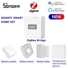 Work Smart-Temperature Alexa SONOFF Wireless-Switch/door-Sensor Google Home And