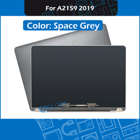 2019 Year Original New Space Grey A2159 LCD Screen Assembly for Macbook Pro Retina 13 A2159 Complete Display Assembly EMC 3301