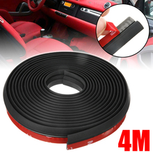 Mayitr 1pc Z-shape 4M Universal Car Door Window EPDM Rubber Seal Weather Strip For Most Of Cars Truck SUV