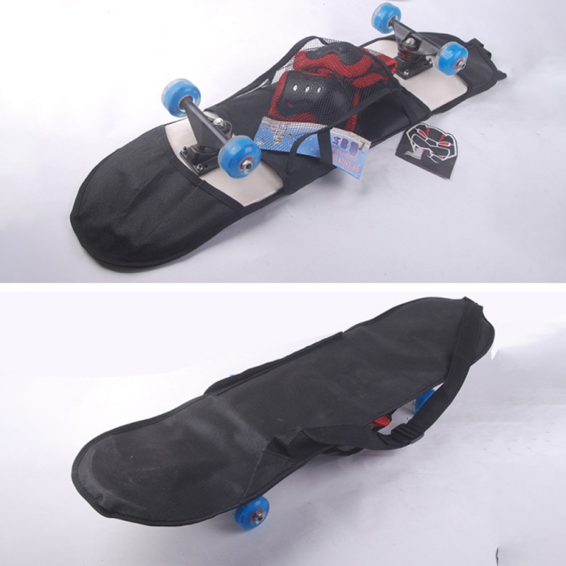 Thick Skateboard Carry Bag Backpack Adult Adjustable Outdoor Longboard Carrying Cover Carrier Messenger Bags