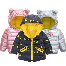 Children Down Parkas Kids clothes Winter Thick warm Boys gir