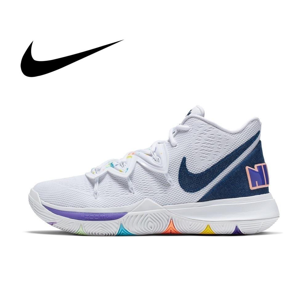 Nike KYRIE 5 EP Original Men Basketball Shoe Breathable Outdoor Sports Sneakers Athletic Designer Footwear Walking AO2919