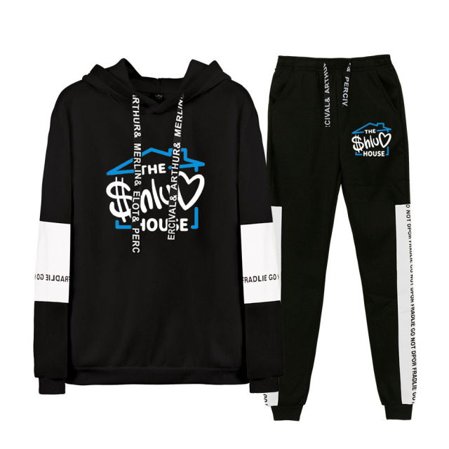 SET THE SHLUV HOUSE HOODIE + TROUSERS (15 VARIAN)