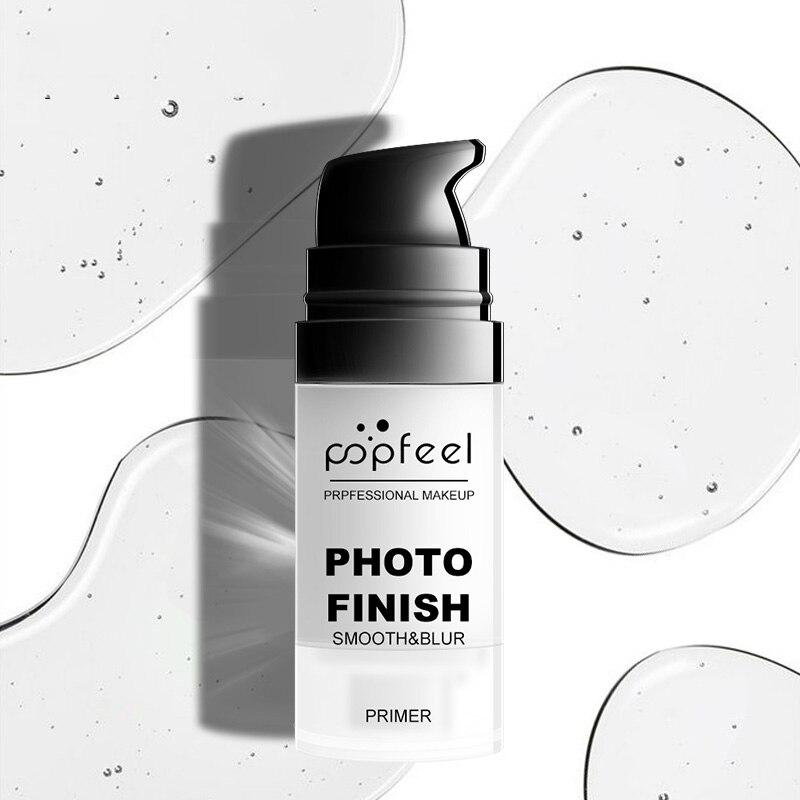 Крем-основа для макияжа POPFEEL, крем для ухода за кожей лица с солнцезащитным блоком, Увлажняющий Осветляющий барьер для скрывания пор