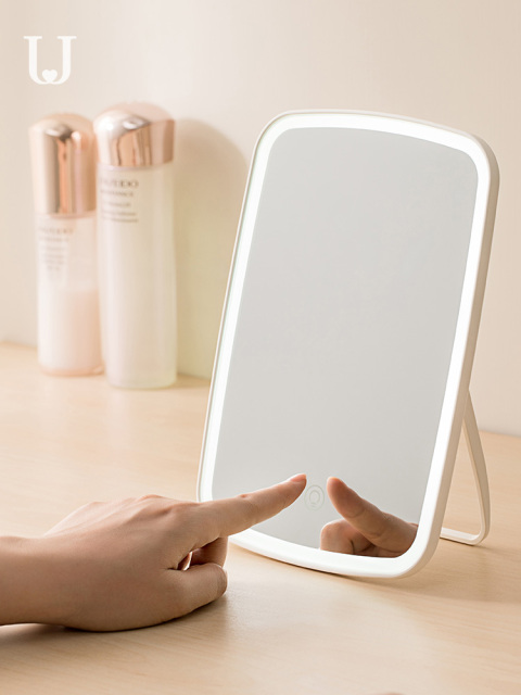 Xiaomi Mijia makeup mirror with LED light Touch Dimmer Vanity Mirror Lamp fill lights Cosmetic Tool for Live broadcast 5