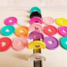 22pcs35mm цветные пластиковые гриб отверстие струбцина кольца