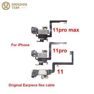 Image 3 - SZteam earpiece flex cable for iPhone X XS MAX XR 11 11pro 11promax original pulled Original Earpiece Replacement Parts