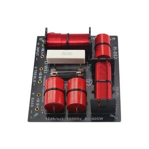 Image 3 - GHXAMP Divisor de woofer agudos de 2 vías, 400W, Tweeter y Bass Crossover 8ohm, 1,5 khz con bombilla con protección contra sobrecorriente, 1 ud.