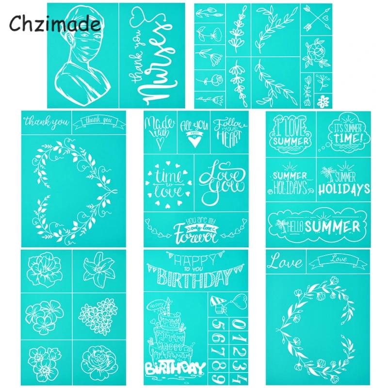 Silk Screen Transfer Reusable Mandala 8.5x11 Chalk Paste Transfers Chalk Stencils Mesh Adhesive Stencil Reusable Stencil
