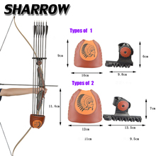 цена на Archery Recurve Bow Arrows Quiver  4/6 Arrows American Hunting Bow Arrow Bag Sports Shooting Game Bow And Arrow Accessories