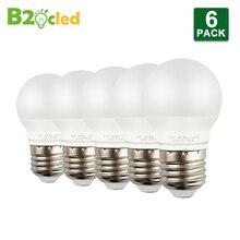 6pcs High Quality LED Bulb Lamp CRI90 E27 3W 5W 7W 9W 12W AC 110V 220V led Light ball White Warm Lampada Bombillas Support Lamps недорго, оригинальная цена