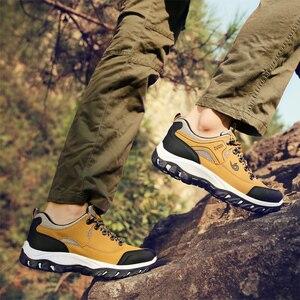 Image 4 - 2020 לנשימה נעלי הליכה גברים הליכה סניקרס חיצוני החלקה טיפוס טרקים ספורט הנעלה KITLELER Zapatillas Hombre