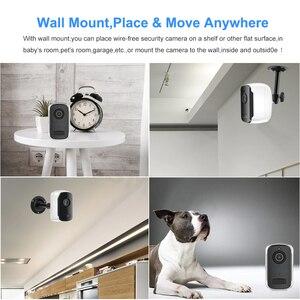 Image 4 - Rechargeable Battery IP Camera Wifi 1080P HD Outdoor Indoor Wireless Security Surveillance Camera Two Way Audio PIR Sensor Wide