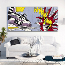 RELIABLI ART Roy Lichtenstein Abstract Posters Pop Art Canvas Painting Wall Pictures For Living Room Big Size No Frame