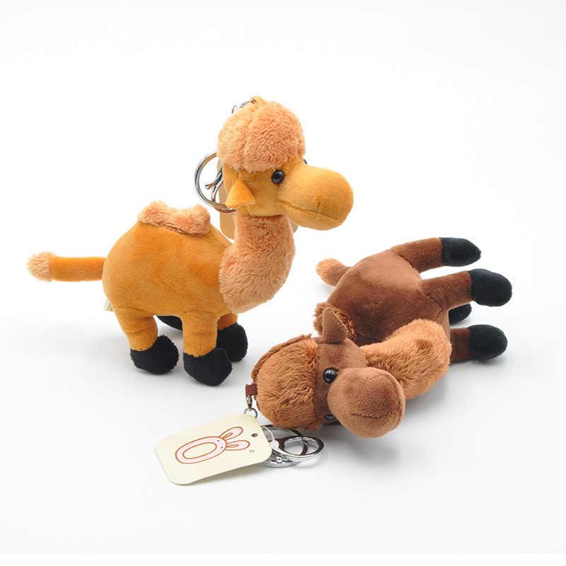 2020 morbido Profumato Bambola Cammello Portachiavi Mini Cammello Peluche Giocattolo Farcito Animali di Peluche Bambola Piccolo Ciondolo Giocattolo Per Bambini Regalo Per Bambini giocattolo