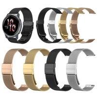 Correa de malla de acero inoxidable para reloj Garmin Venu 2 Venu2 / Venu Sq / Vivoactive 3 / 4 45mm