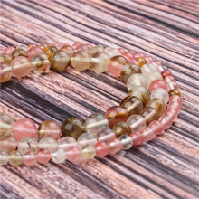 Natural Stone Color watermelon 15.5 PicBlue Peacockk Size 4/6/8/10/12mm fit Diy Charms Beads Jewelry Making Accessories