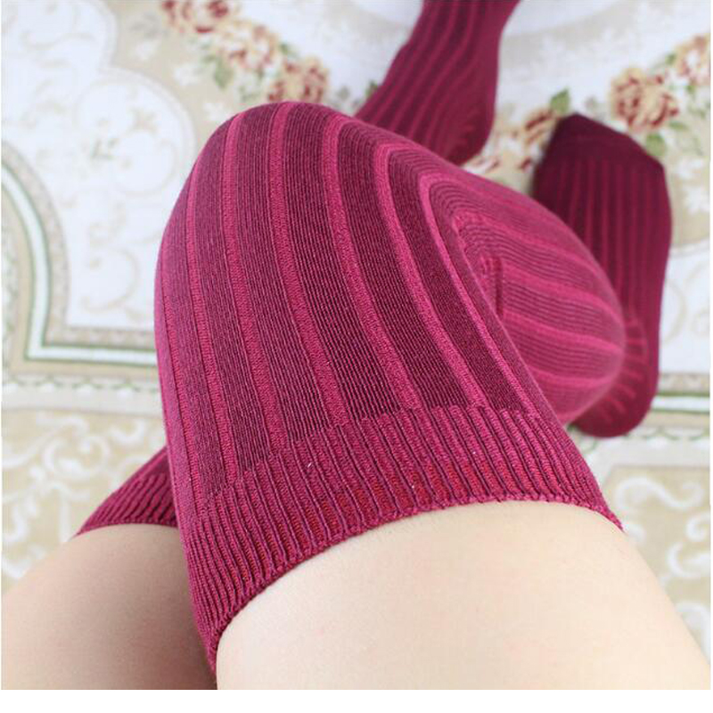 ╔DiscountCotton Stockings Warmer Crochet-Sock High-Over-The-Knee-Socks Thigh Winter Long New-Designÿ