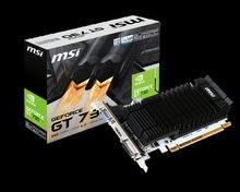 MSI N730K-2GD3H/LP tarjeta gráfica NVIDIA GeForce GT 730 2 GB GDDR3