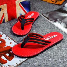 Zomer Slippers Mannen Slippers Water Schoenen Rode Sandalen Mannelijke Slipper mannen Sandalen Flip Flop Strand Slippers voor mannen dropshipping(China)