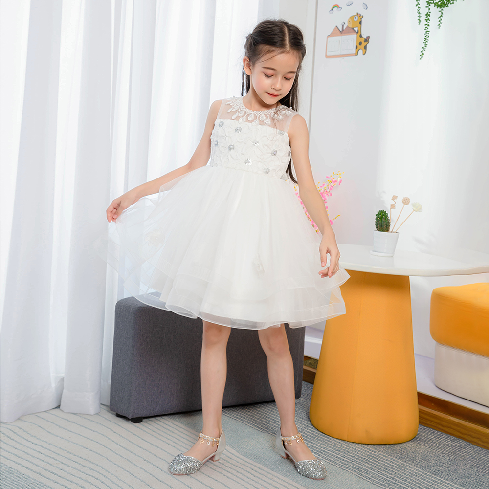 vestido de noite criancas roupas 3 10 ano 03
