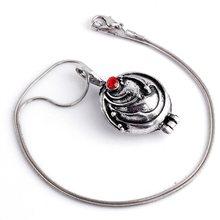 O envio da gota medalhão pingente pescoço corrente vampiro elena gilbert verbena colar vampiro diários namorada presente cosplay jóias