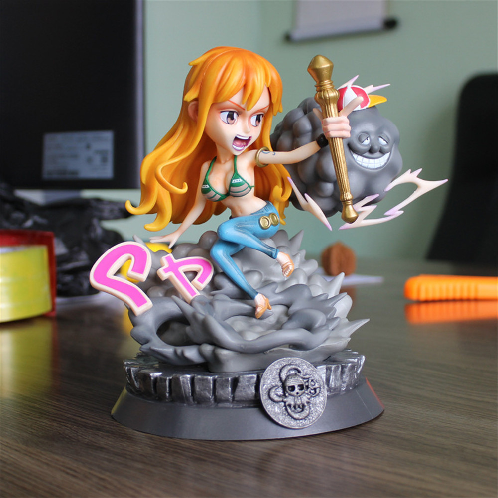 Nami One Piece Figures Toys GK Anime Figurine Doll For Girl Collection One Piece Luffy GK Nami PVC Model Action Figma Juguetes