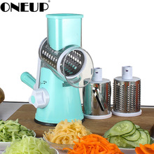 ONEUP Vegetable Cutter Slicer Manual Multifunctional Kitchen Accessories Rotating Grater