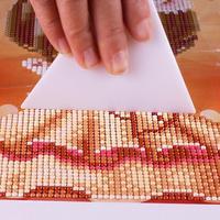 1 قطعة 5D الماس اللوحة تصحيح أدوات عبر غرزة الرسم مصحح قالب الضابط مصحح للأطقم الماس اللوحة