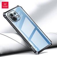 Xundd-funda protectora de lujo para Xiaomi Mi 11, funda de Tpu suave a prueba de golpes, galvanoplastia, 5G