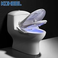 KOHEEL Intelligent Toilet Seat Electric Bidet Cover Intelligent Bidet Heat Clean Dry Massage Smart Toilet Seat