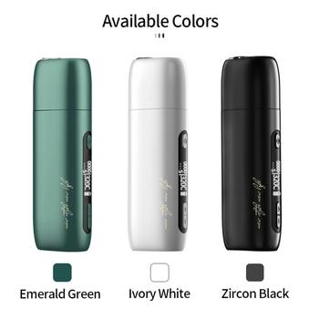 SMY Pluscig P9 – Kit de vapoteur avec boîte Mod, batterie 3500mah, chauffage du tabac, herbe sèche, adapté à la cigarette électronique IQOS, narguilé, E-cigarette