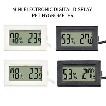 Digital Thermometer Humidity Electronic Instruments Hygrometer Temperature Gauge Meter Sensor Thermostat Outdoor Weather Station sht2000 thermostat temperature humidity control thermometer hygrometer humidista controller ac 110v 85 230v 10a digital display